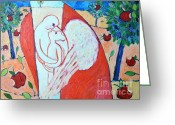 Bears Painting Greeting Cards - Love Never Fails - Love Bears All Things - Endures All Things Greeting Card by Ana Maria Edulescu
