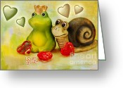 Still Life Greeting Cards - Love you Greeting Card by Angela Doelling AD DESIGN Photo and PhotoArt