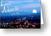 First Lady And President Greeting Cards - Lovely Asheville Greeting Card by Ray Mapp