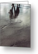 Ebb Greeting Cards - Low Tide Greeting Card by Joana Kruse