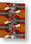 Music Box Greeting Cards - Lp - 3 Greeting Card by Mike McGlothlen