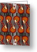 Music Box Greeting Cards - Lp - 4 Greeting Card by Mike McGlothlen