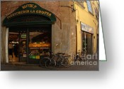 Thelightscene Greeting Cards - Lucca Italy Greeting Card by Bob Christopher