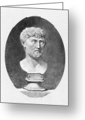 B.c Greeting Cards - Lucretius (96 B.c.?-55 B.c.) Greeting Card by Granger