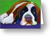 Debbie Brown Greeting Cards - Lucy Greeting Card by Debbie Brown