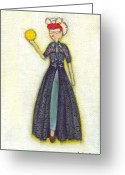 Lucille Ball Greeting Cards - Lucys Ball of Sunshine Greeting Card by Ricky Sencion