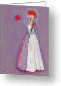 Lucille Ball Greeting Cards - Lucys Friendship Ball Greeting Card by Ricky Sencion