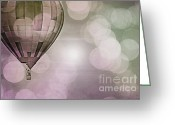 Baby Room Greeting Cards - Lullaby Dream Greeting Card by Andrea Hazel Ihlefeld