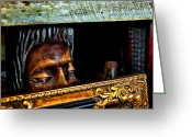 Ocularperceptions Greeting Cards - Lurking Greeting Card by Christopher Holmes