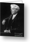 Hall Of Fame Photo Greeting Cards - Luther Burbank, American Botanist Greeting Card by Science Source