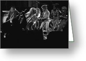 Spokane Greeting Cards - Lynyrd Skynyrd in Spokane Greeting Card by Ben Upham