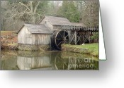 Most Photographed Photo Greeting Cards - Mabry Mill in the Fall Greeting Card by Shannon Slaydon
