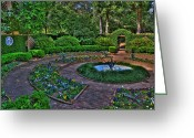 State Flowers Greeting Cards - Maclays Garden Greeting Card by Alex Owen