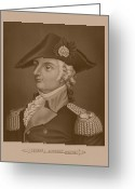 Wayne Greeting Cards - Mad Anthony Wayne Greeting Card by War Is Hell Store