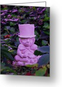 Mad Hatter Photo Greeting Cards - Mad Hatter Greeting Card by Debi Ling