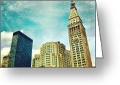 Picoftheday Greeting Cards - Madison Square Park. #nyc #manhattan Greeting Card by Luke Kingma