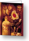Luck Greeting Cards - Magic Things Greeting Card by Garry Gay