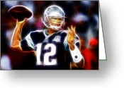 Qb Greeting Cards - Magical Brady Greeting Card by Paul Van Scott