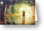 Marry Greeting Cards - Magical Moment Greeting Card by Christopher Clark