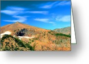 Rocky Mountain National Park Greeting Cards Greeting Cards - Magical Mountain Greeting Card by Kathleen Struckle