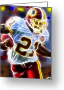 Miami Drawings Greeting Cards - Magical Sean Taylor Greeting Card by Paul Van Scott