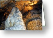 Cavern Greeting Cards - Magnificence Greeting Card by Lynda Lehmann