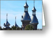 Minarets Greeting Cards - Magnificent Minarets Greeting Card by Carol Groenen