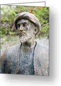 1100s Greeting Cards - Maimonides, Jewish Philosopher Greeting Card by Sheila Terry