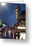 Kansas City Greeting Cards - Main Street Kansas City Greeting Card by Steve Karol