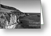 Coastal Landscape Greeting Cards - Majestic Coast Greeting Card by Scott Pellegrin