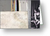 Nudity Mixed Media Greeting Cards - Make Em Beg Greeting Card by Michel  Keck