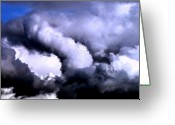 Photographers Fine Art Greeting Cards - Makes Ya Think Greeting Card by Louie Rochon