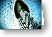 Featured Greeting Cards - Mall Greeting Card by Mark B