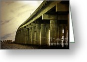 Interstate Greeting Cards - Manchac Greeting Card by Scott Pellegrin
