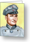 Murray Mcleod Greeting Cards - Manfred von Richtofen Greeting Card by Murray McLeod