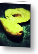 Mango Digital Art Greeting Cards - Mango Greeting Card by Olivier Calas