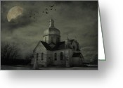 Edmonton Photographer Prints Greeting Cards - Mannerisms Of Midnight  Greeting Card by Jerry Cordeiro