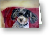 Mutt Greeting Cards - Marci Greeting Card by Arline Wagner