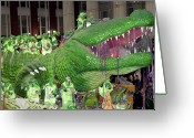 Highsmith Greeting Cards - Mardi Gras Float - New Orleans Louisiana Greeting Card by Carol M Highsmith