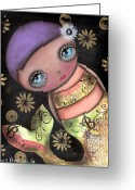 Abril Greeting Cards - Maria Greeting Card by  Abril Andrade Griffith