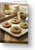 Narcotic Greeting Cards - Marijuana Oatmeal Cookies Greeting Card by Lew Robertson/Fuse