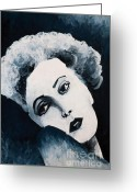 Marilyn Monroe Singer Greeting Cards - Marilyn Monroe Greeting Card by Natalie Kinnear