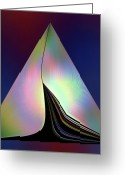 Photo-realism Digital Art Greeting Cards - Marine Abstracrt 11c Greeting Card by Irma BACKELANT
