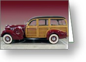 Woody Wagon Greeting Cards - Marooned Greeting Card by Bill Dutting