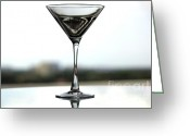 Absolut Greeting Cards - Martini IV Greeting Card by Rene Triay