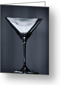 Establishment Greeting Cards - Martini Greeting Card by Margie Hurwich