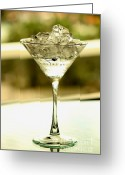Absolut Greeting Cards - Martini XVI Greeting Card by Rene Triay