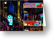 Comic. Marvel Greeting Cards - Marvelous Greeting Card by Jeff Breiman