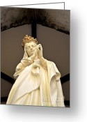 Biblical Greeting Cards - Mary Greeting Card by Dean Harte