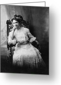Civil Rights Greeting Cards - Mary Eliza Church Terrell Greeting Card by Granger